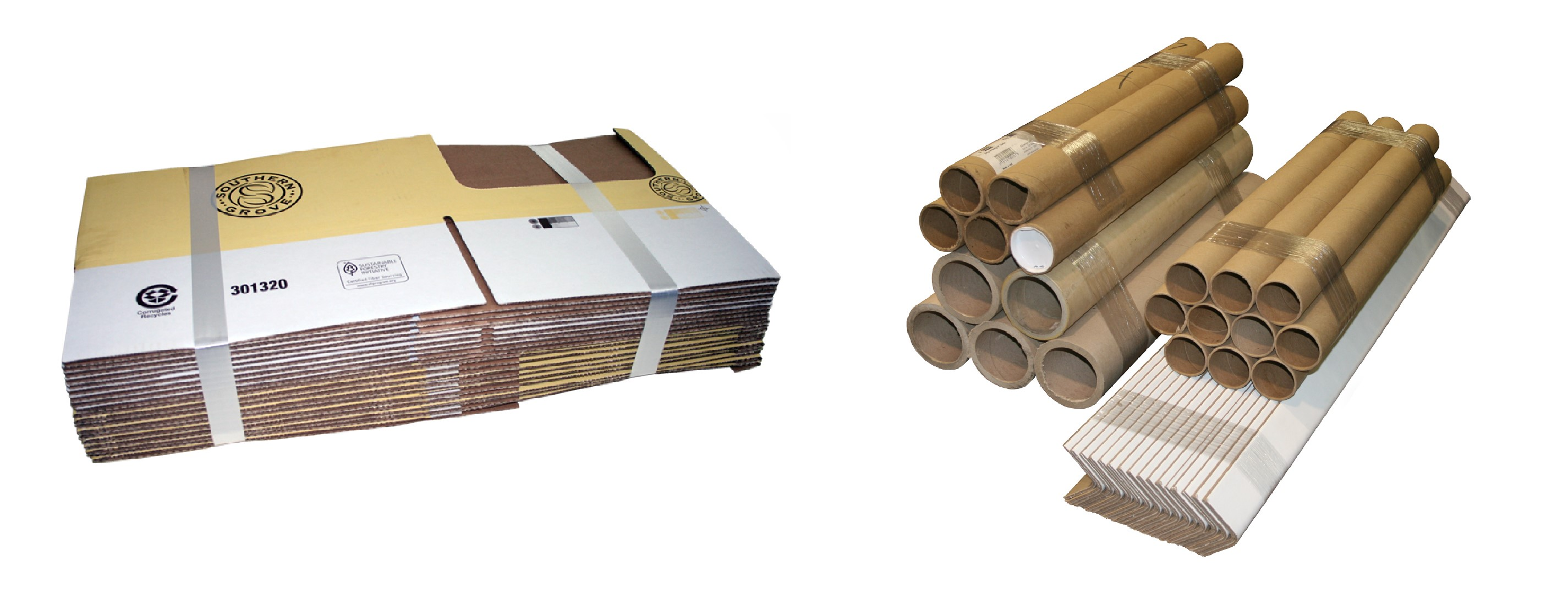 banded corrugated products