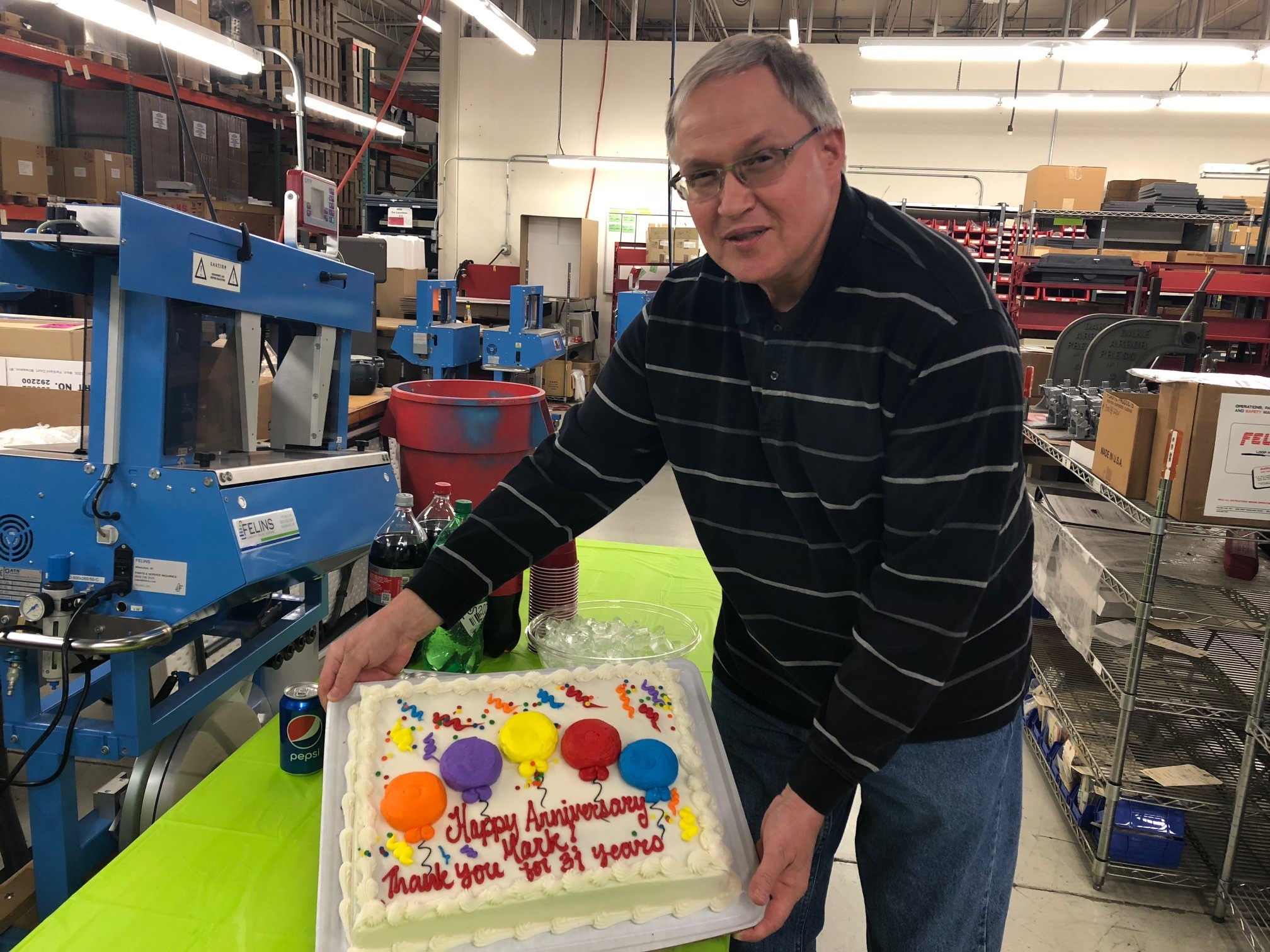Felins production machinist retirement