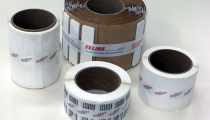 Label Rolls Banded with US-2000 LD 20mm Banding Machine
