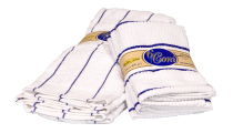 retail banding, display banding, towels