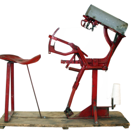 Antique Pak-Tyer tying machine