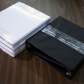 3-Ring Binders, Stretch Film Banding, multipacking, unitizing