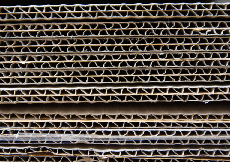 corrugated banding and strapping