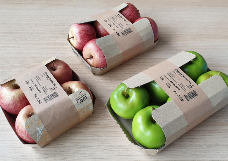 Paper Packaging for Apples and Produce