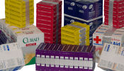 Packaging for Healthcare Products - Band-Aid Boxes - Medical Supplies - Medicine