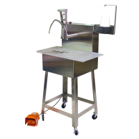 stainless steel Sani-Tyer tying machine for meats, poultry, chicken