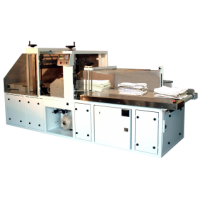 TP-200 and TP-300 fully automated laundry wrapping systems