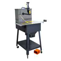 Mail Tray-Tyer tying machine for mail trays and tubs