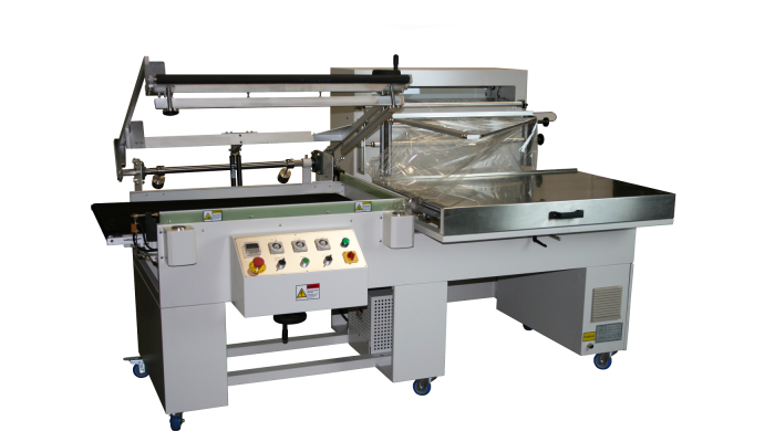 TP-100 semi-automatic shrink wrapping machine