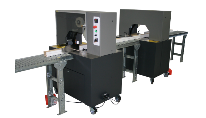Flex-Strap Tandem semi-automatic stretch film banding system
