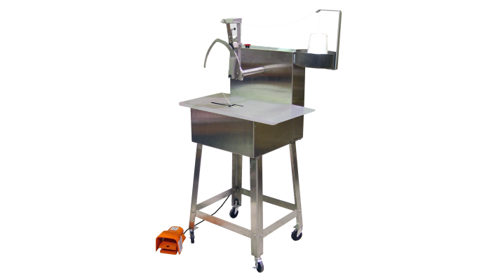 Stainless steel Sani-Tyer tying machine for food industry