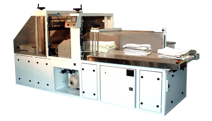 TP-300 laundry shrink wrapping machine
